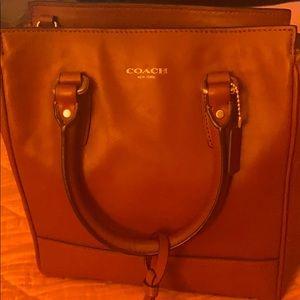 Coach mini handbag with strap